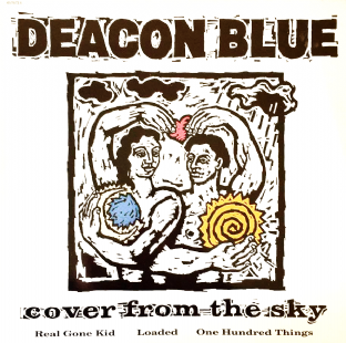 "Deacon Blue ‎- Cover From The Sky (12"") (NM/EX)"